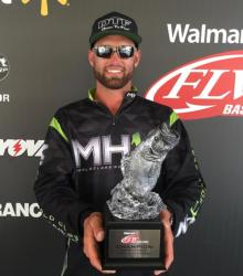 Co-angler Jessey Rudolph of Deltona, Fla., won the April 18 Gator Division event on Lake Okeechobee with a limit weighing 21 pounds, 8 ounces to earn over $2,600.