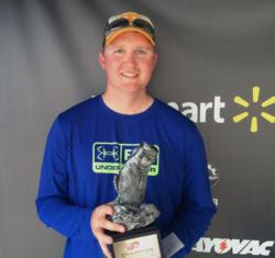 Co-angler Chris Seese of Lenoir City, Tenn., won the April 18 Volunteer Division event on Lake Chickamauga with a 15-pound, 7-ounce limit to earn over $2,000.