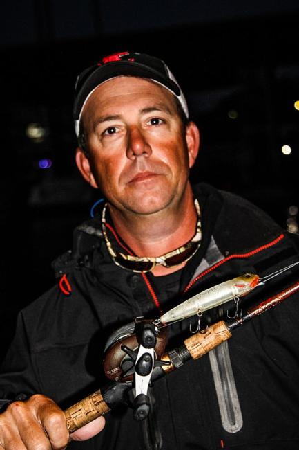 Russell Cecil will start his day with a topwater.
