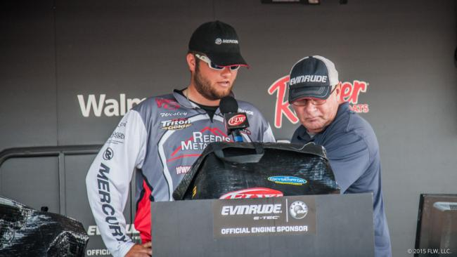 Wesley Anderson finished 10th with 40 pounds, 6 ounces.