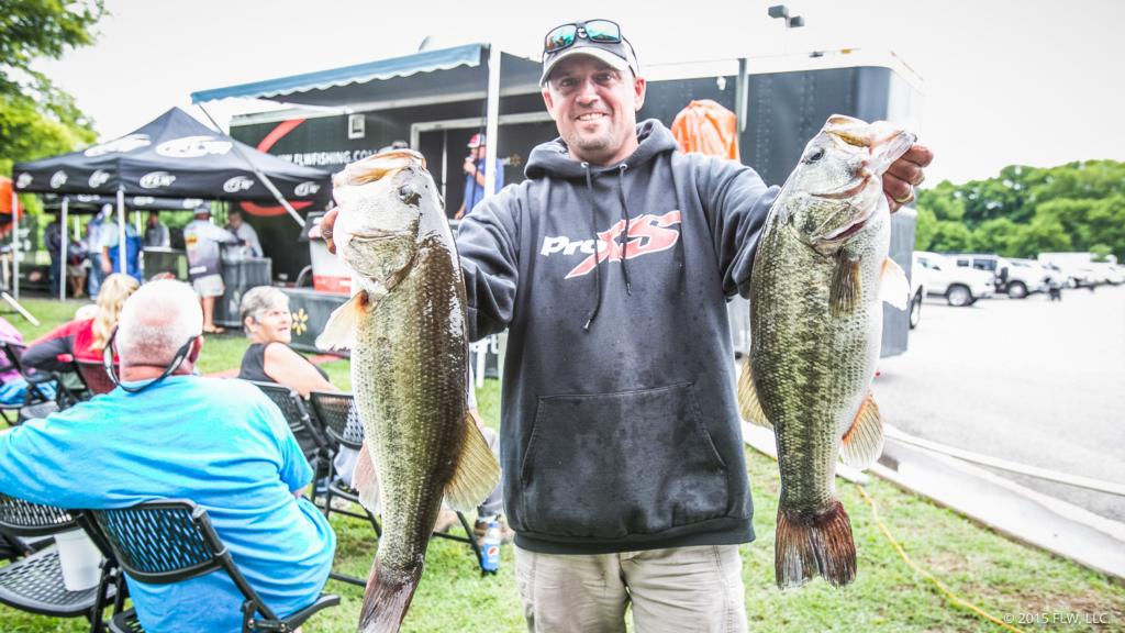 Top 10 patterns from the james river flw fishing articles for James river fishing