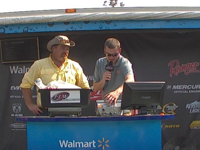 Flw fishing ryan renshaw angler profile for Walmart with live fish near me