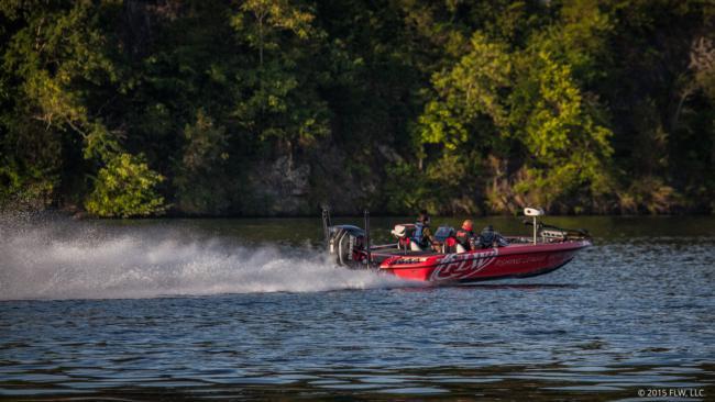 Flw fishing bill mcdonald angler profile for Lake chickamauga fishing