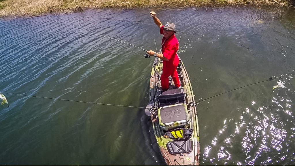 From kayak to bass boat flw fishing articles for Best bass fishing kayak