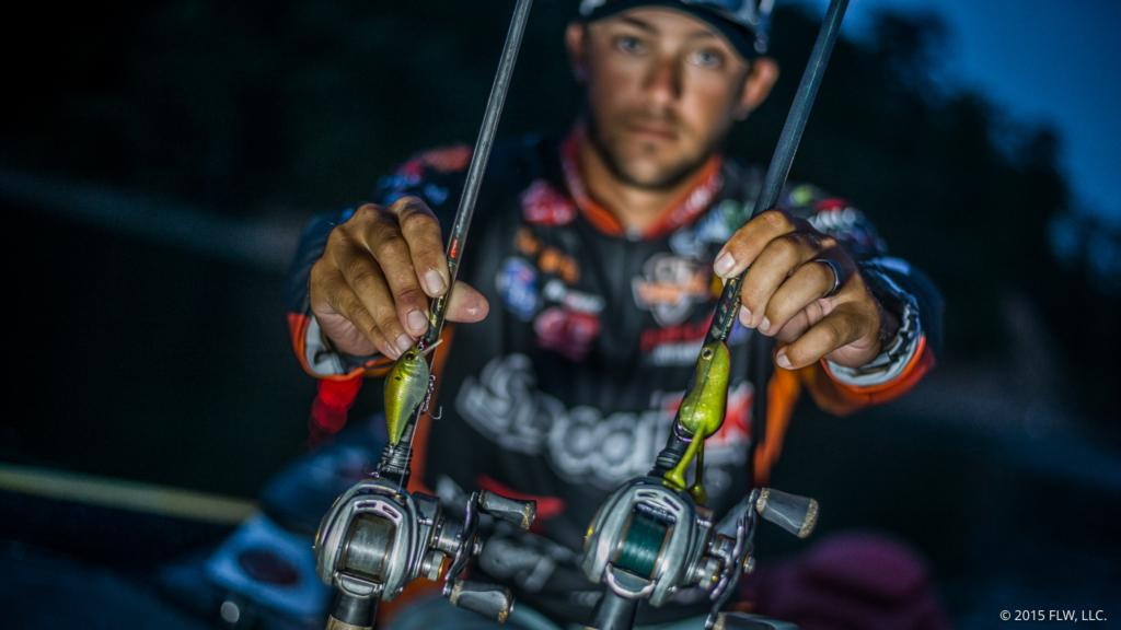 Pro anglers top 10 baits choice for the forrest wood cup for 6th sense fishing