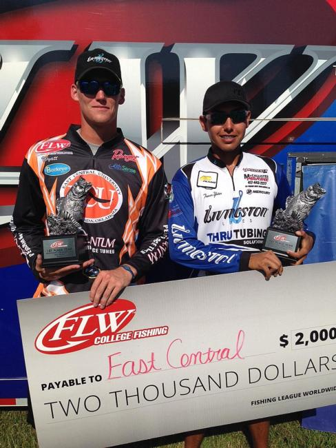 /news/2015-09-19-east-central-university-wins-flw-college-fishing-southern-conference-finale-on-red-river