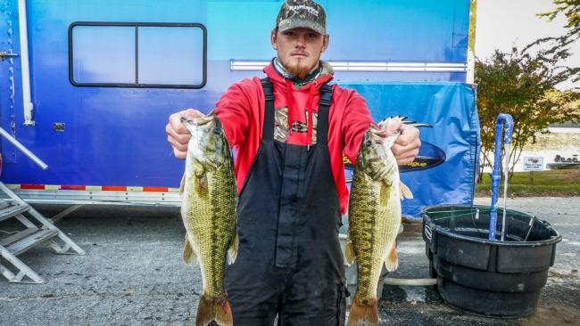 Co-angler Wesley Smith came out on top in the Wild Card on Lake Hartwell.