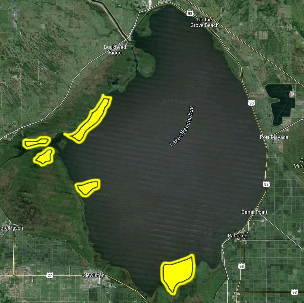 5 Key Areas on Okeechobee FLW Fishing Articles