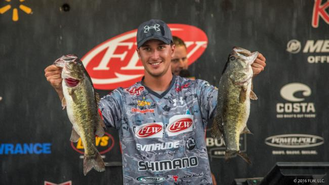 Ontario's Chris Johnston kicked off his professional career on the Walmart FLW Tour with a top-10 finish this week on Lake Okeechobee.