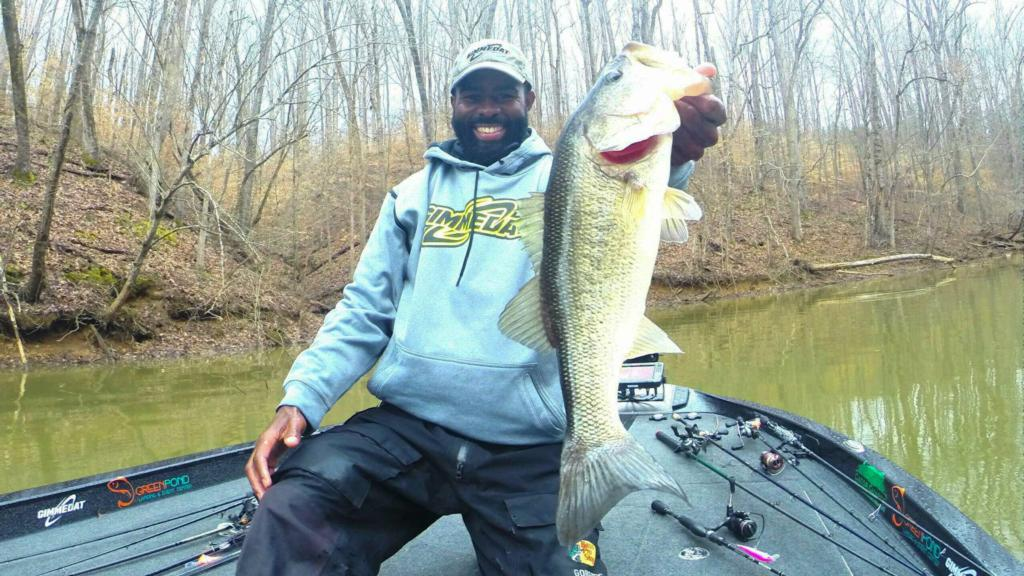 Hartwell pre practice report flw fishing articles for Lake hartwell fishing report