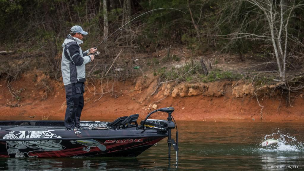 Top 10 patterns from lake hartwell flw fishing articles for Lake hartwell fishing hot spots