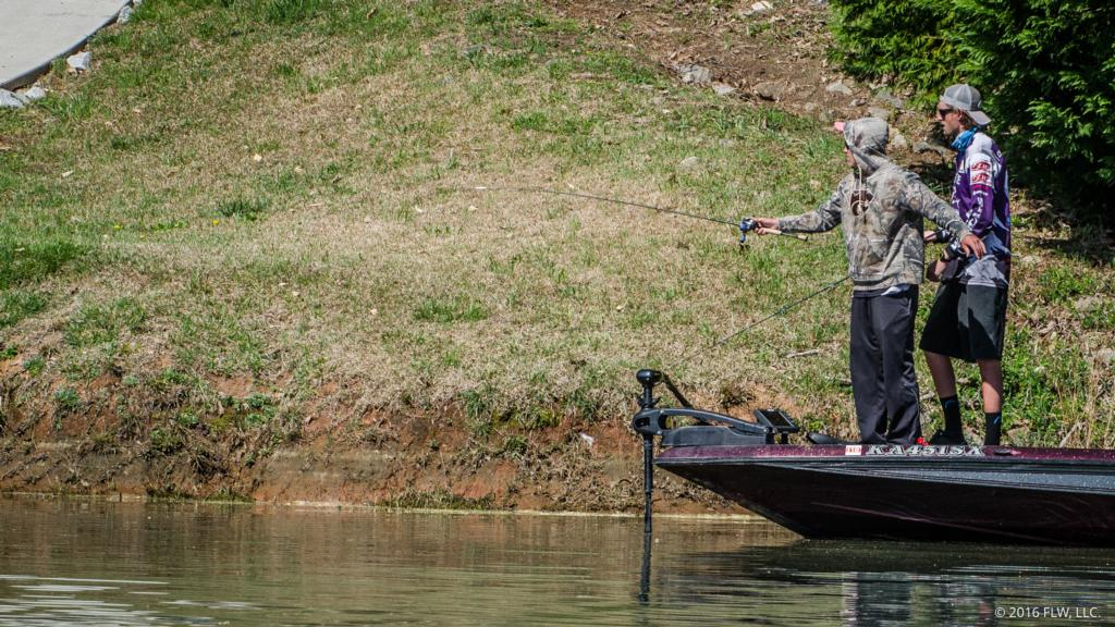 Top 10 patterns from lake keowee flw fishing articles for Lake keowee fishing