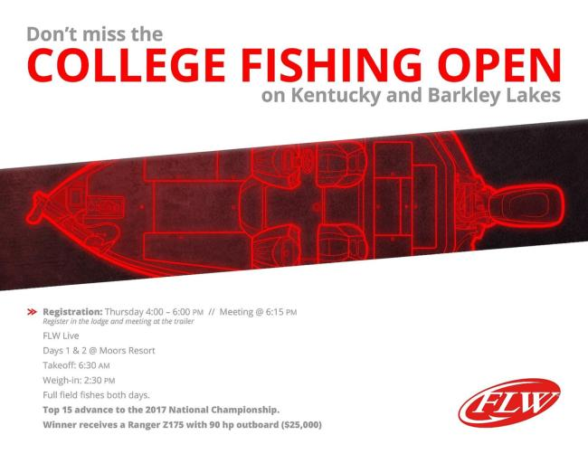 College Fishing Open
