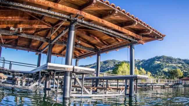 Clear Lake docks