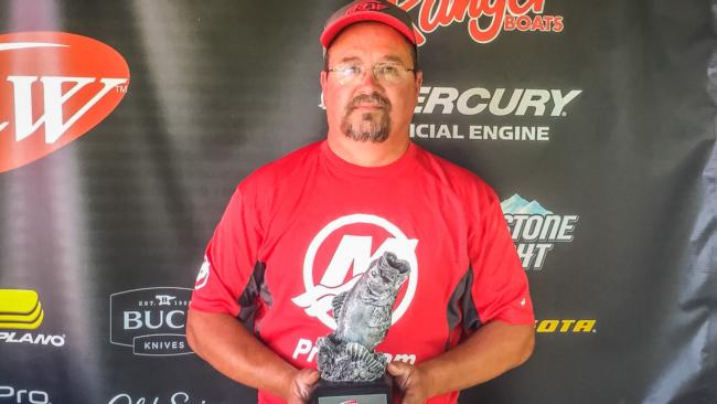 Co-angler Jerry Cook of Prattville, Ala., won the May 7 Bama Division event on Lake Mitchell with a 15-pound limit to earn close to $2,000 for his efforts.