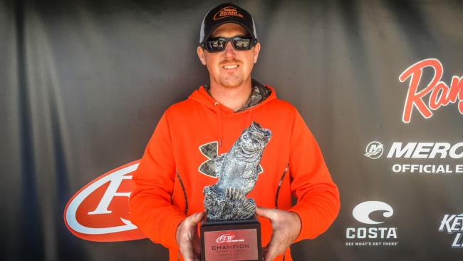 Co-angler Phillip Delong of Stillwater, Okla., won the May 14 Ozark Division event on Grand Lake with a 16-pound, 1-ounce limit and earned over $2,000.