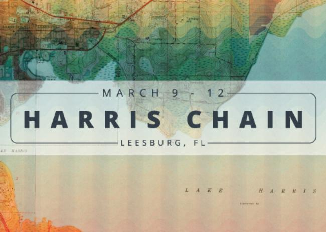 Harris Chain - 2017 WALMART FLW TOUR SCHEDULE
