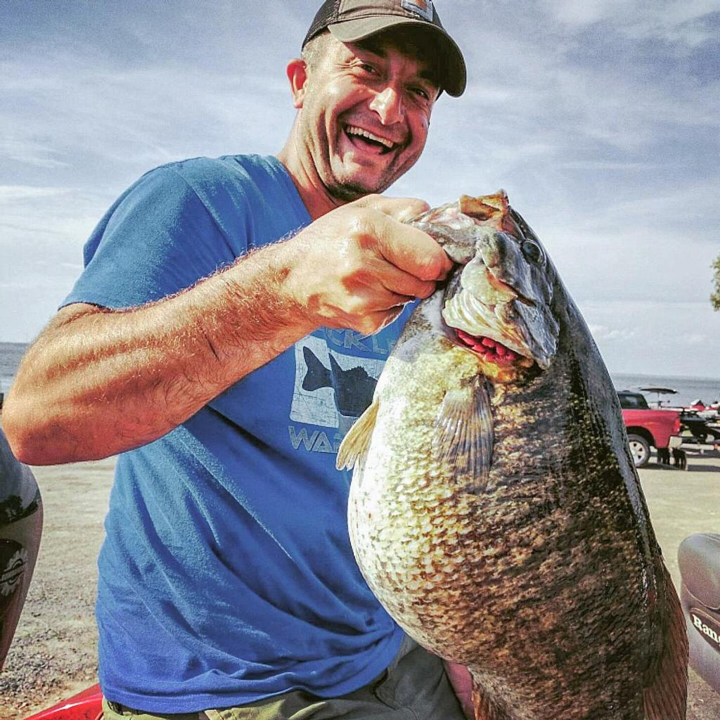 Tbf angler catches n y record smallmouth flw fishing for Bass fishing tournaments in florida
