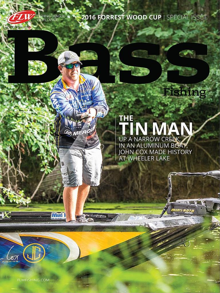 Flw news sept 12 flw fishing articles for Bass fishing magazine