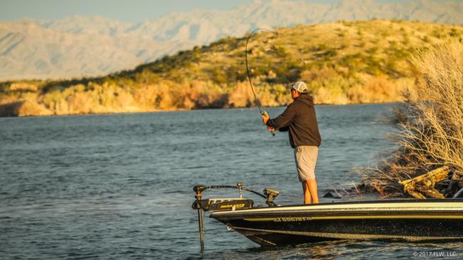 Lake havasu top 5 patterns day 2 flw fishing articles for Lake havasu fishing