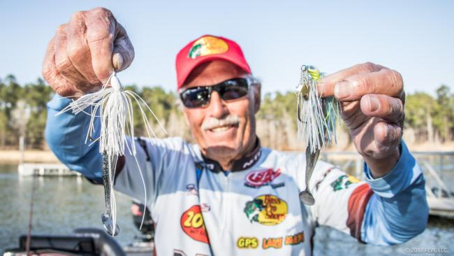 Texas legend Tommy Martin caught his fish on swim jigs and ChatterBaits.