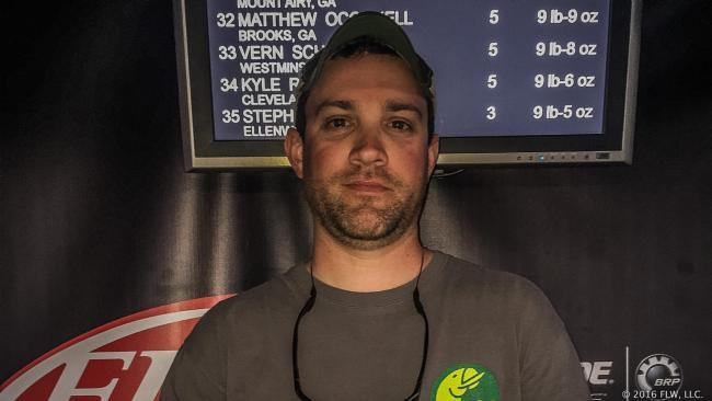 Co-angler Matt Deufel