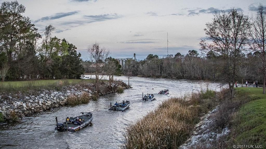 Solving the seminole puzzle flw fishing articles for Lake seminole fishing