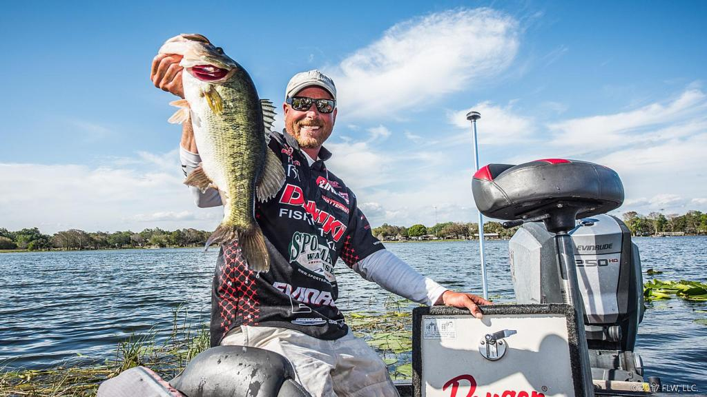 Harris chain top 5 patterns day 2 flw fishing articles for 13 fishing origin c