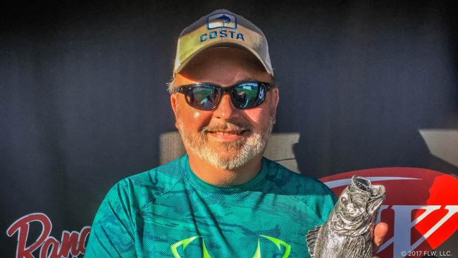 Co-angler Paul Clayton