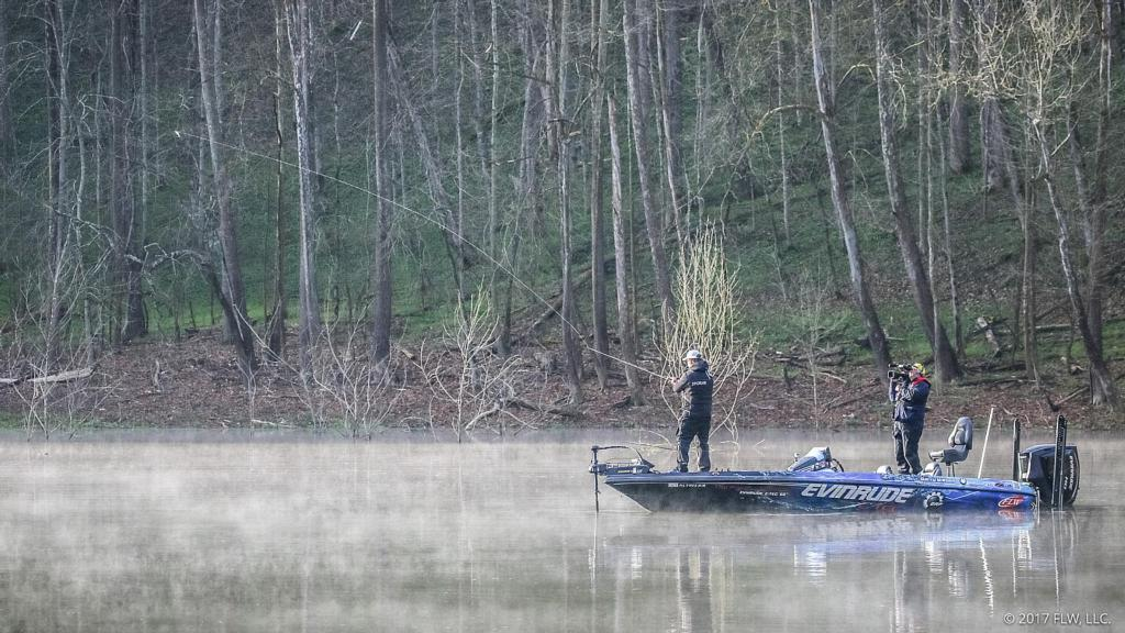 Lake cumberland top 10 patterns flw fishing articles for Lake cumberland fishing