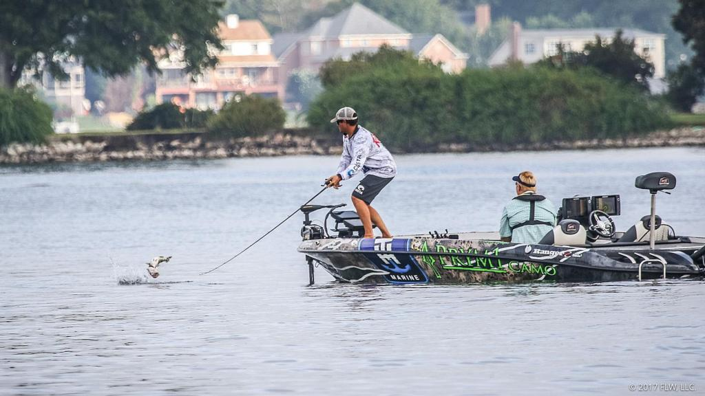 Atkins out in front flw fishing articles for Lake murray fishing hot spots