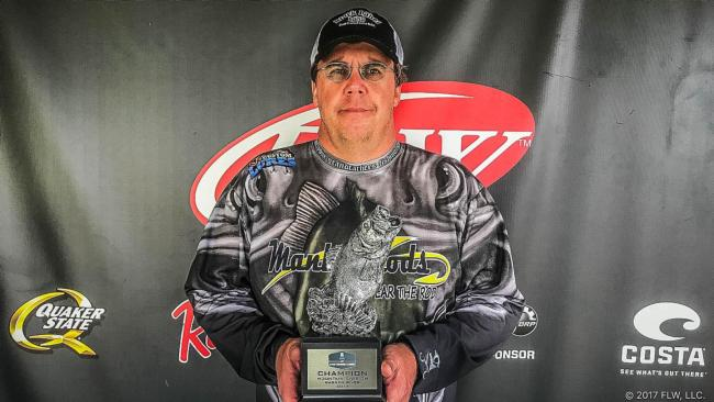 Co-angler Chad Hill